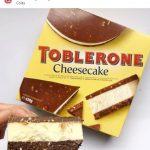 Toblerone lança cheesecake de sorvete