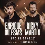Ricky Martin e Enrique Iglesias anunciam turnê juntos