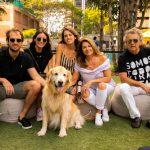 Henrique Derenze, Fernanda Perlaky, Giuliana Walkiria e Angelo Derenze