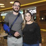 Felipe Cunha e Pilar Mendonça