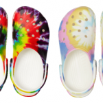 Tie-Dye Graphic Clog