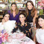 Silvia Braz, Bel Pimenta, Christiana Neves da Rocha, Gabriella Peixoto e Carol Bassi