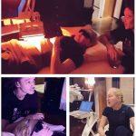 Madonna monta clínica em casa para tratar dores com luz