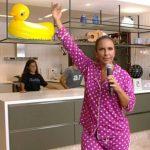 Ivete Sangalo faz uma live em comemoração ao Dia das Mães na quarentena
