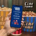 """Cinerama cria campanha """"Pipoca do Bem"""" que converte vendas em doações de máscaras"""