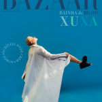 Xuxa estampa capa da revista Harper's Bazaar Brasil de maio e junho