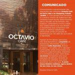 Octavio Café encerra operações de cafeterias em São Paulo