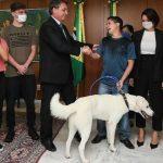 Cachorro adotado por Michelle Bolsonaro tem dono e é devolvido