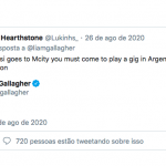 Liam Gallagher promete show na Argentina se Messi for para o Manchester City