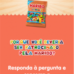 "Promoção ""Me patrocina, Haribo"" começa hoje!"
