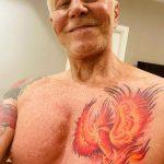 Em nova fase, Miguel Falabella faz nova tatuagem