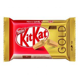 KITKAT lança edição limitada Gold