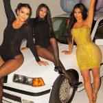 Kim Kardashian veste René Caovilla em sua festa de 40 anos