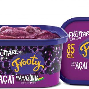 Fruttare por Frooty Açaí é novidade do Verão 2020