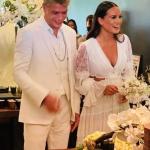 Fábio Assunção se casa com a advogada Ana Verena Fonte