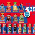 Danoninho celebra criações da Pixar em embalagens com 12 personagens divertidos
