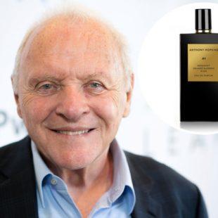 Anthony Hopkins lança perfume com lucro destinado ao combate a fome infantil