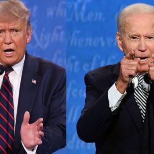 Trump e Biden fazem hoje segundo e último debate na TV