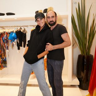 Inauguração nova loja Amir Slama