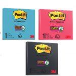 Post-it® amplia seu portfólio e apresenta cores inéditas