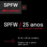 Farol Santander recebe desfile e projeção mapeada nos 25 anos do São Paulo Fashion Week