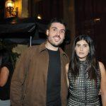 Pedro Campos e Sofia Derani