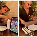 """Chef do """"bife de ouro"""" aposenta mesa preferida de Maradona no seu restaurante"""