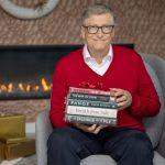 Bill Gates revela lista de seus 5 livros favoritos de 2020
