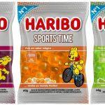 """Haribo amplia portfólio e lança """"SPORTS TIME"""" balas de gelatina com sabores inéditos"""