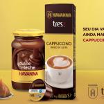 Havanna e TRES se unem para criação de cápsula de Cappuccino Doce de Leite