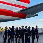 American Airlines celebra o Mês da Mulher e opera voo com tripulação totalmente feminina