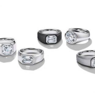 Pela primeira vez em 184 anos, Tiffany lança anéis de noivado para homens