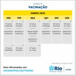 Rio prevê vacinar todos acima de 18 até agosto e adolescentes a partir de setembro