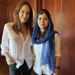 """""""Estou orgulhosa da minha amiga"""", diz Malala sobre Angelina Jolie"""