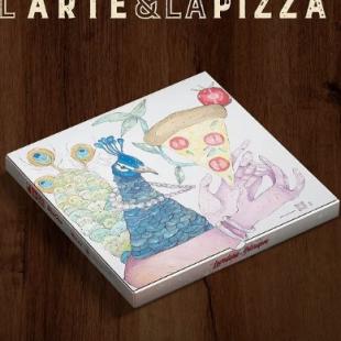 L' Arte & La Pizza combina sabor e tradição com obras de artistas de rua
