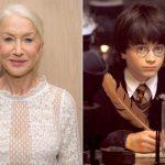Helen Mirren apresentará programa de competição de fãs de Harry Potter