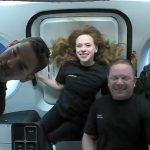 Voo da SpaceX com civis: primeiras fotos dos tripulantes são divulgadas