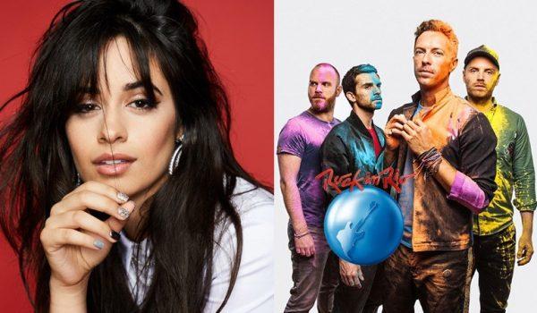 Camila Cabello se junta ao Coldplay e estará no Rock in Rio 2022